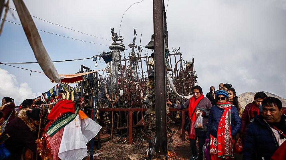 दोलखाका धार्मिक पर्यटकिय गन्तव्यहरु खुला, सुरु हुन थाल्यो चहलपहल